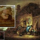 На картинах голландца ван Остаде закрашивали обнажённых крестьян