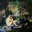 Меньшая версия картины Мане «Завтрак на траве» не копия, а подготовительный этюд
