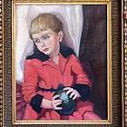 Картину, стоимостью 50 000 фунтов стерлингов, нашли на сайте по продаже подержанных вещей