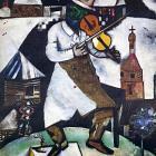 Знаменитый «Скрипач» Шагала написан на скатерти