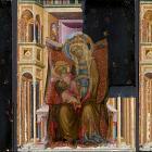 Реставраторы музея Метрополитен обнаружили скрытый фон на картине XIV века
